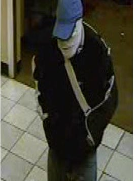 "A bank robber, dubbed the ""Bandaged Bandit"" by the FBI, covered his face in bandages while robbing a Salem bank."