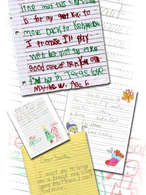 Letter to Santa illustration. Created 12/14/05. (Gleaner photo illustration by Darrin Phegley ¥ 831-8375 or dphegley@thegleaner.com)