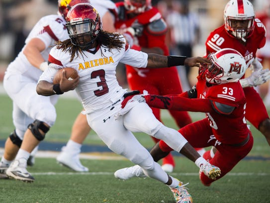 East Mississippi's Ty'Ree Evans (33) will sign with
