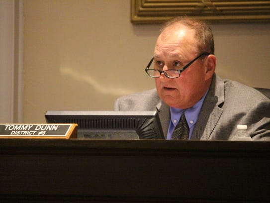Anderson County Council Chairman Tommy Dunn