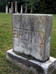 Daniel Brown was the last person buried in the Old City Cemetery on Vine Street in Murfreesboro. He was buried in 1931.