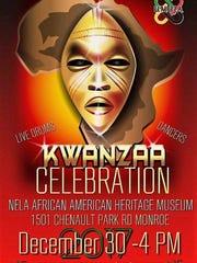Celebrate Kwanzaa Saturday at the African American