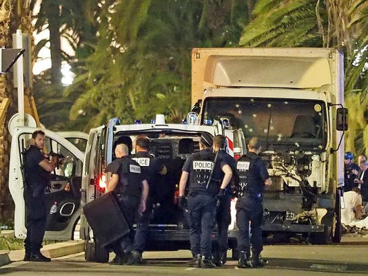 AP FRANCE TRUCK ATTACK I FRA