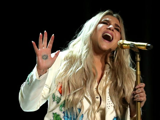 Kesha will perform July 19 at Ruoff Home Mortgage Music