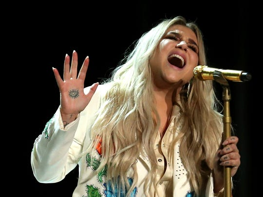 Kesha will perform July 19 at Ruoff Home Mortgage Music Center.