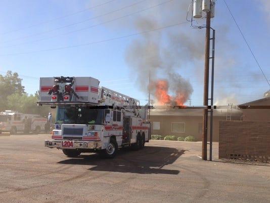 Mesa church fire ii