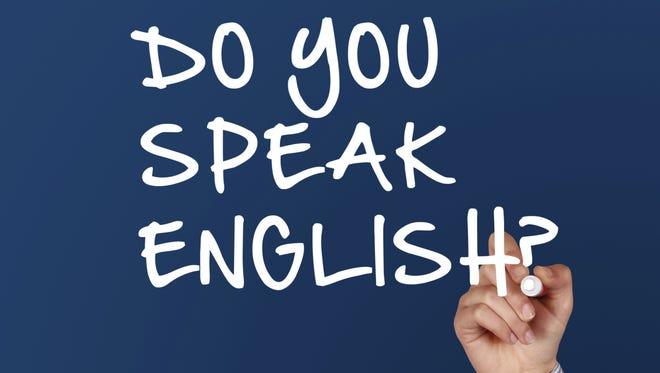 April 23 is U.N. English Language Day.