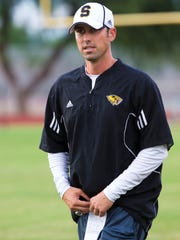 Saguaro head coach Jason Mohns.