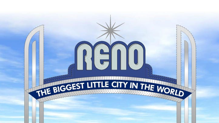 Reno Arch might turn silver and blue for $220K while neon lights to stay for now