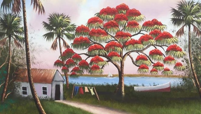 The Susan Broom Kilmer Branch Library's ArtSpace hosts works by Fort Pierce resident Richard Edwards Feb. 27 through March 30.