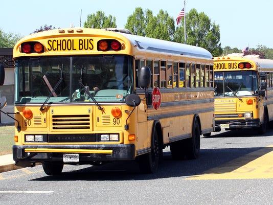 Brick school buses