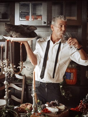 Anthony Bourdain is producing a documentary series for CNN about the history of Detroit.