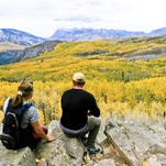 Crested Butte offers perhaps the best golden aspen show in Colorado.