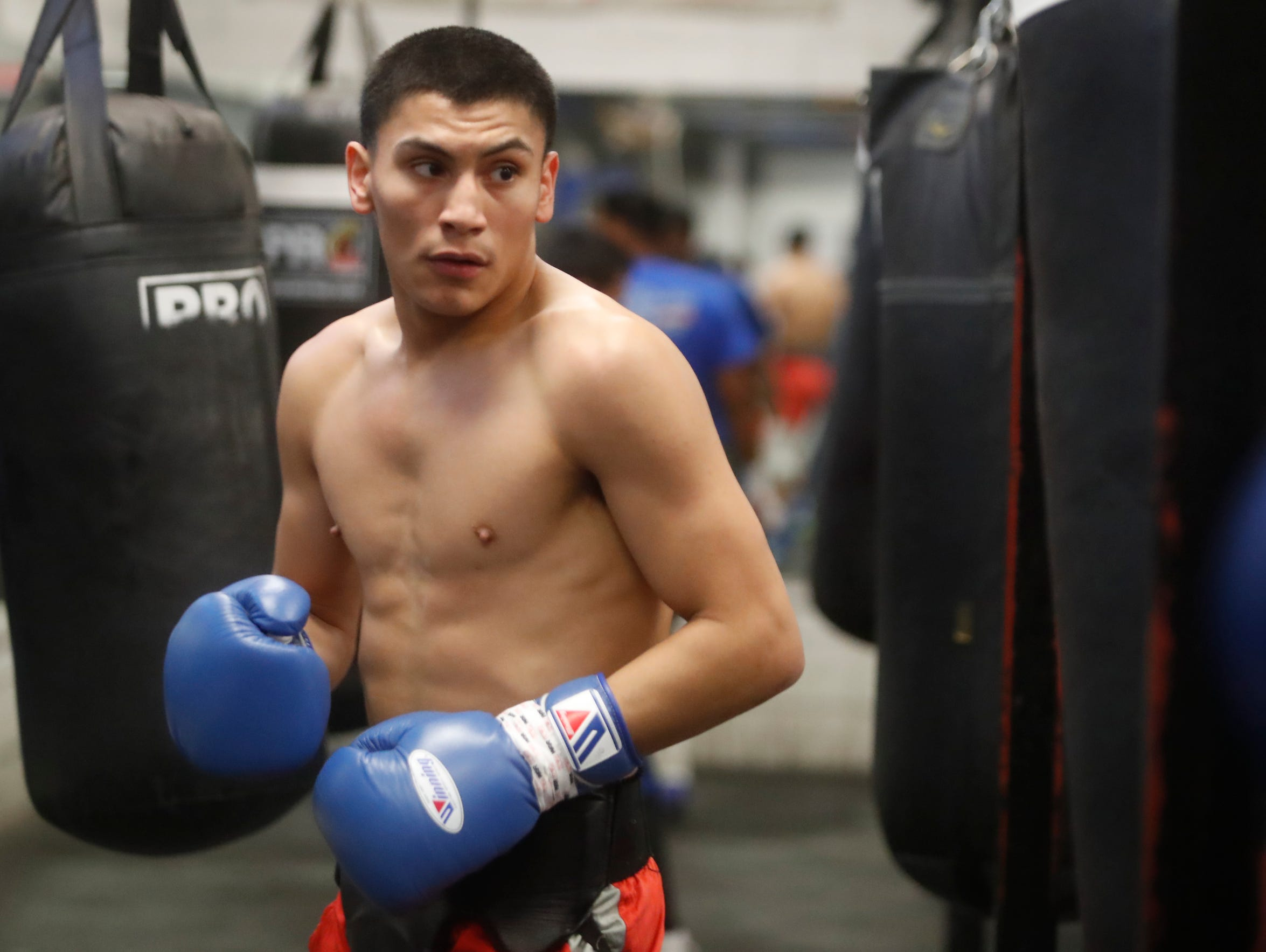 Vergil Ortiz, 19, is a prospect in the world of elite