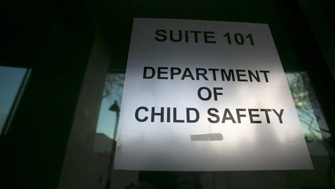 Arizona Department of Child Safety satellite field office at 1 N. Macdonald in Mesa on Dec. 22, 2017.