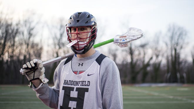 Haddonfield's Mitchell Rothstein, a professional magician since he was 11 years old, is one of the top faceoff specialists in the country.