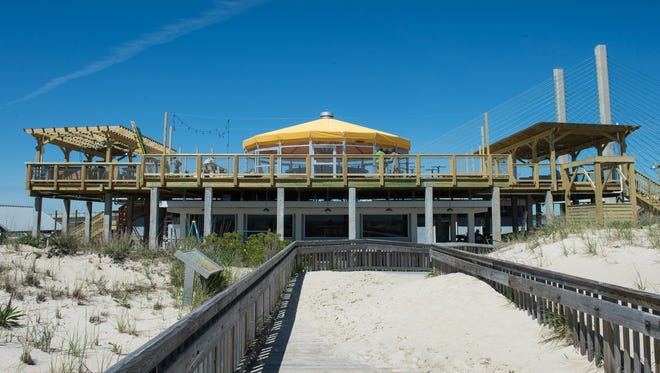 An exterior view of the Big Chill Beach Club in Bethany on Tuesday.