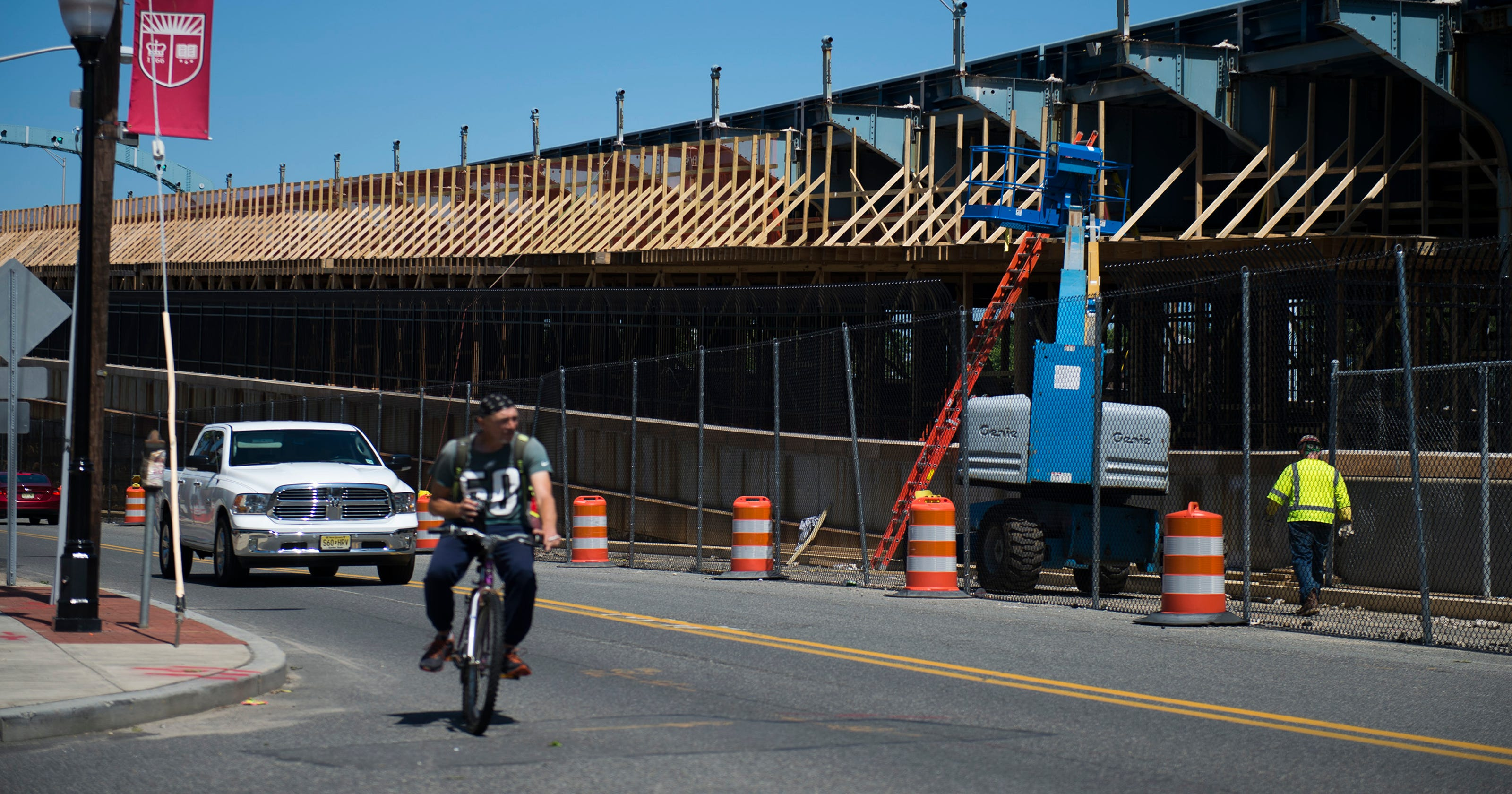 Camden Street Shut For Ben Franklin Bridge Ramp Work