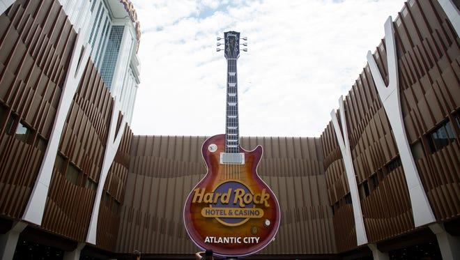 The new Hard Rock Hotel & Casino Thursday, June 28, 2018 in Atlantic City. N.J.