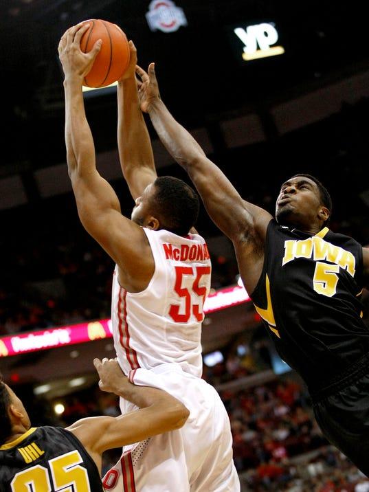 NCAA Basketball: Iowa at Ohio State
