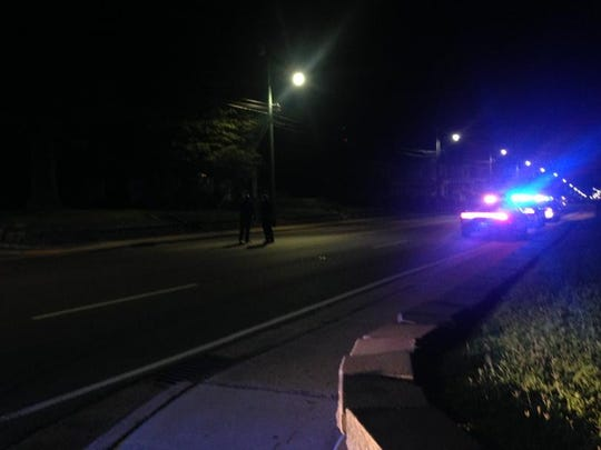 Officers are on scene investigating shots fired at North Highland Avenue and West King Street late Wednesday night. At least one casing in the road.