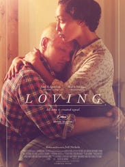 """The poster for """"Loving."""""""