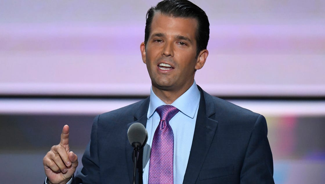 Donald trump jr compares syrian refugees to poisoned skittles