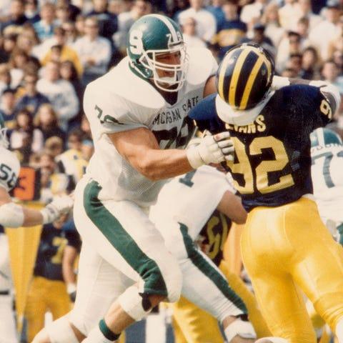 Tony Mandarich was a consensus All-American in...