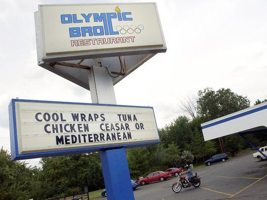 Olympic Broil opened in 1974 at 1320 N. Grand River in Lansing. Photographed Aug. 17, 2006.