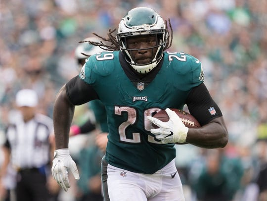LeGarrette Blount ran for a team-best 766 yards on