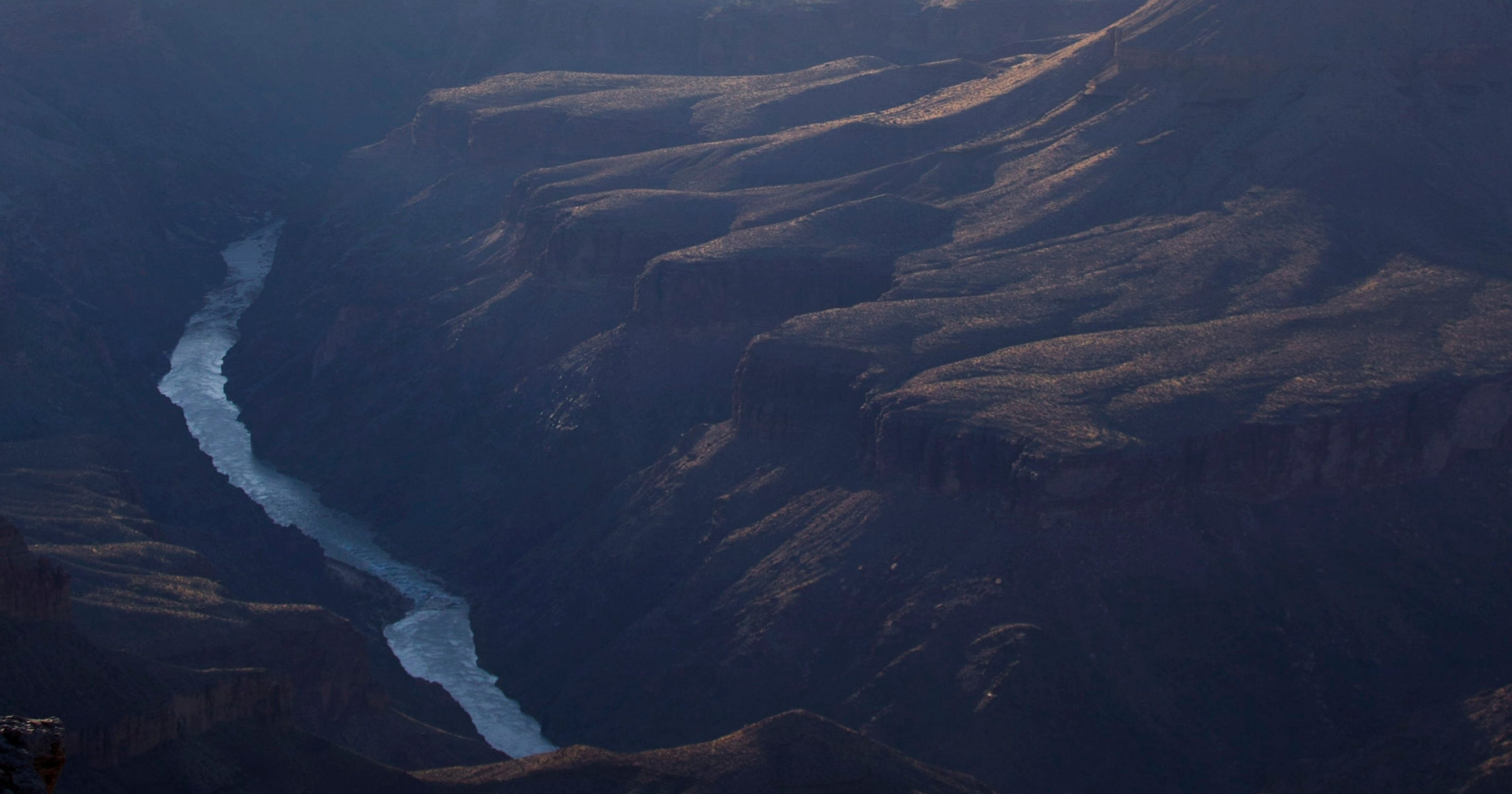 Colorado in Grand Canyon rated No  1 endangered river