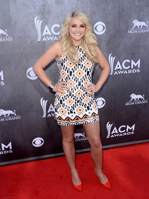 Jamie Lynn Spears at Country Music Awards in Las Vegas in April 2014.