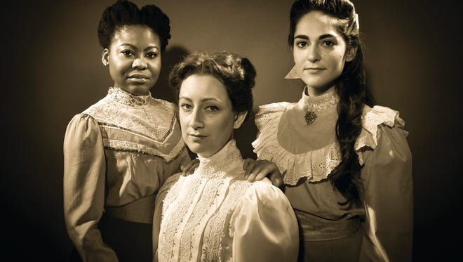 "Carlene Pochette, Emily Kicklighter and Lauren Pennline are the ""Three Sisters"" in this publicity photo from the University of Tennessee's Carousel Theatre."
