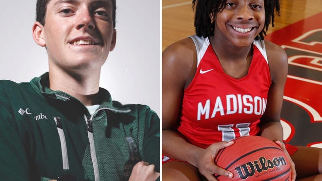 Athens Academy's Graham Blanks and Madison County's Kayla McPherson were named the ABH Best of Preps athletes of the year Thursday night.