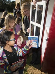 A Free Little Library was placed at Benny Russell Park off West Spencer Field Road in February.