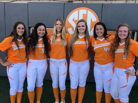 Tenness softball's 2018 signing class includes, from