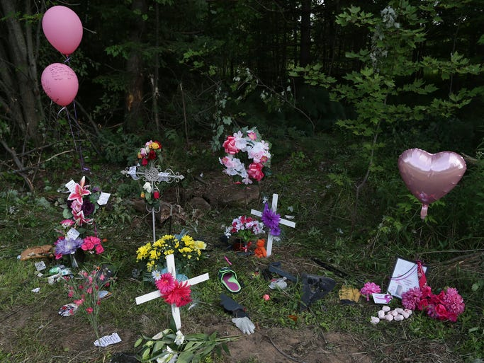 A memorial at the spot of the accident honored the lives of two girls who died as the result of a single-vehicle crash along Highway 52 northeast of Wausau. The two girls will be remembered in a healing candlelight vigil on The 400 Block in downtown Wausau, Monday, August 11, at 8:30 p.m.
