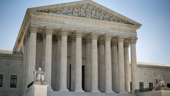 The Supreme Court heard a case Tuesday that tests whether  free speech claims must include actual speech.