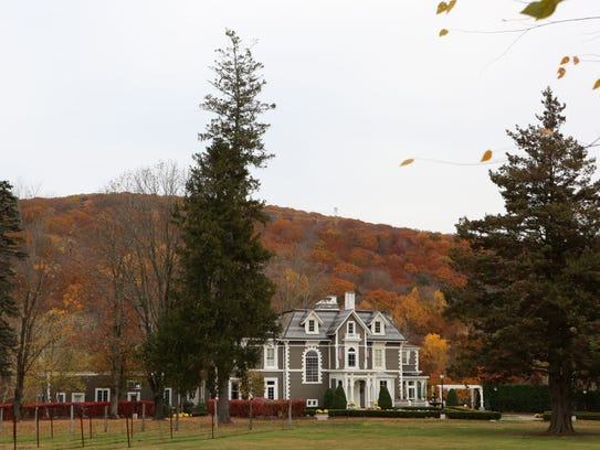 The historic 1875 mansion at Torne Valley Vineyards