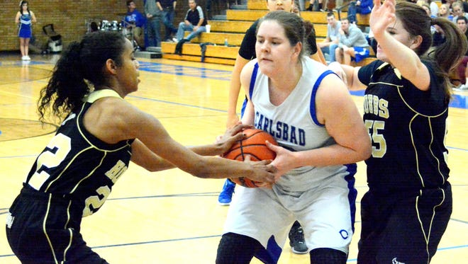 Carlsbad faces Hobbs in the District 4-6A tournament championship game on Feb. 26, 2016. The two squads will do battle again tonight.