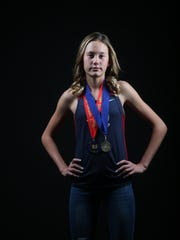 La Quinta High School cross country standout Akemi Von Scherr was our top girls cross country runner of the year.