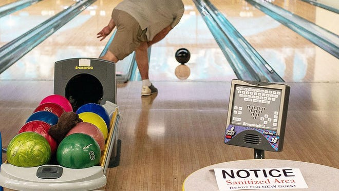A bowling league for seniors and active adults age 55 and older, sponsored by Prosper's Parks and Recreation department, meets weekly at Strikz in Frisco.
