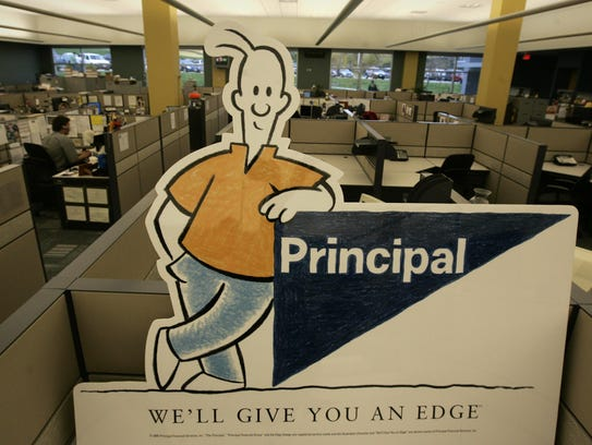 This 2008 file image shows Principal Financial Group's