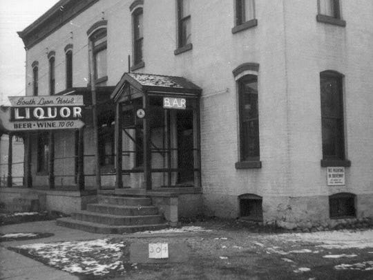 The South Lyon Hotel in 1965.