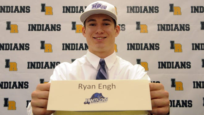 Indian River's Ryan Engh signed his national letter of intent to play baseball at High Point University.