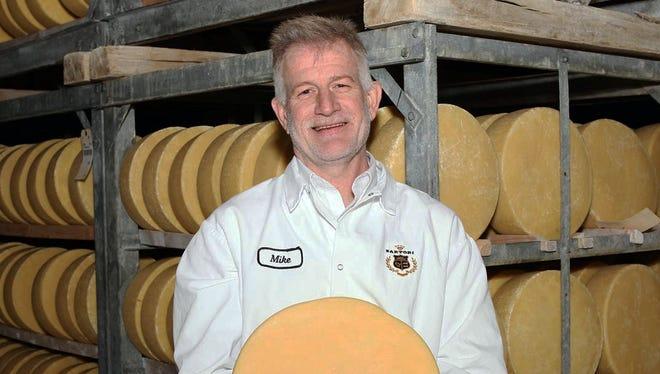 Mike Matucheski is the award-winning master cheesemaker for Sartori cheese in Plymouth.