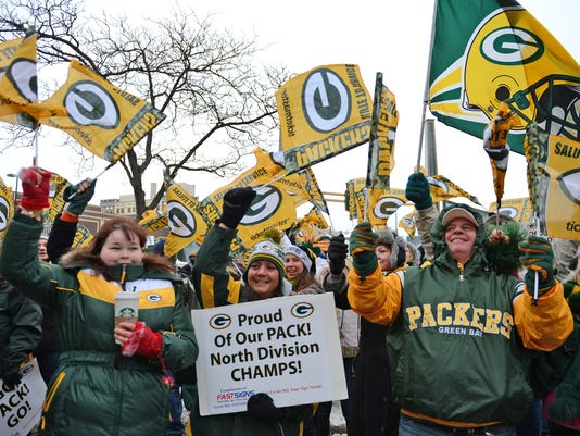 GPG Packers Pep Rally