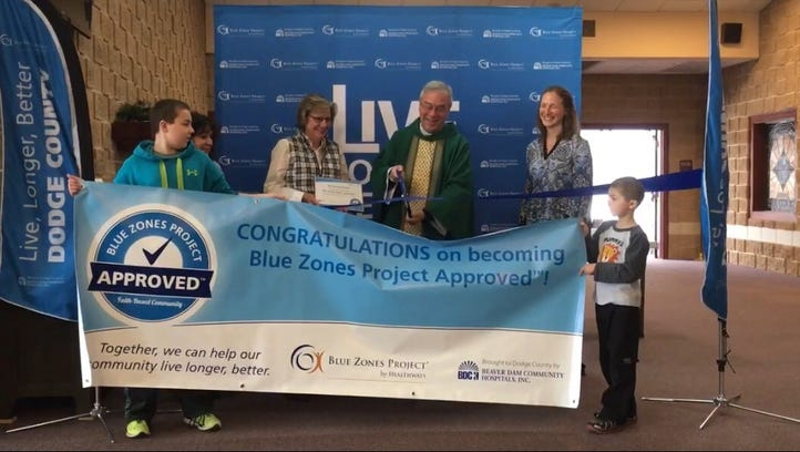 Sacred Heart Parish celebrates as first Blue Zones Project Approved faith-based community
