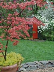 The garden of Margaret Roach in Copake Falls will be