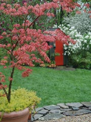 The garden of Margaret Roach in Copake Falls will be